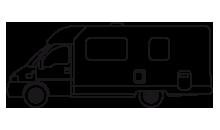 Type de camping cars : Profilé